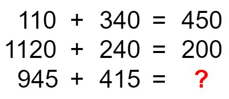 謎解き練習問題 「数字の謎を解き明かそう」 No.0001
