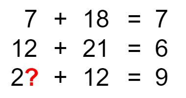 謎解き練習問題 「数字の法則を見つけ出そう」 No.0002
