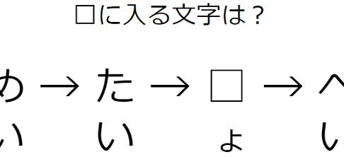 文字の意味を読み解く謎解き練習 No.0012