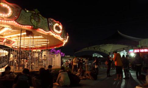 ドーム型・遊園地型:大会場を動き回って謎を解く