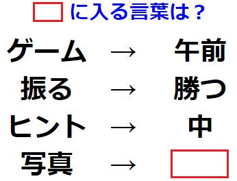 【ひらめき力】単語の変換法則を見抜きだせ! 文字謎解き No.0156