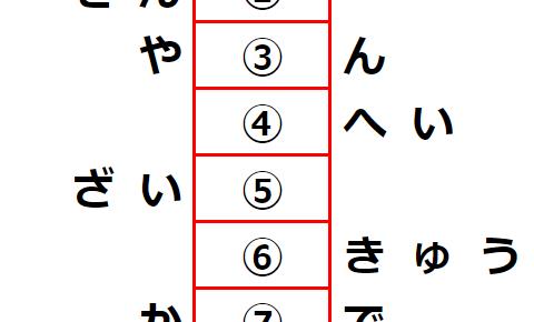 【観察力】7階建ての言葉のナゾ? 謎解きクイズ No.0182