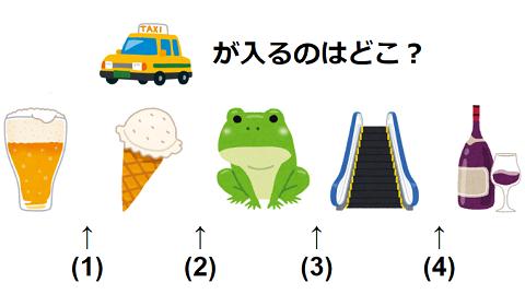 【観察力】イラストを並べ替えよう 謎解き問題 No.0192